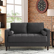 Lifestyle Solutions Langley Loveseat - Heather Grey