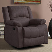 Relax A Lounger Parson Recliner - Chocolate