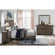 Global Furniture Harlow Queen Bedroom Collection with White Glove Delivery