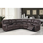 Global Furniture Milano Sectional with White Glove Delivery