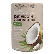 Shea Moisture 100% Virgin Coconut Oil, 2 pk.