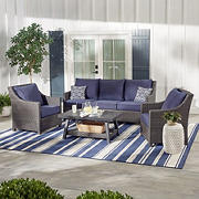 Berkley Jensen Montauk 4PC Conversation Set- Blue