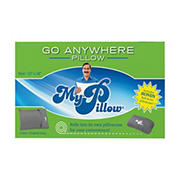 MyPillow Roll & Go Travel Pillow, 2 pk. - Frosted Gray
