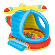 Bestway Up, In and Over Helicopter Ball Pit with 50 Balls