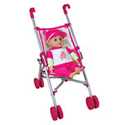 Lissi Doll Umbrella Stroller Set