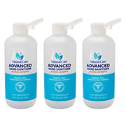 Natural Care Advanced Hand Sanitizer, 3 ct.