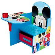 Delta Children Mickey Mouse Chair Desk with Storage Bin