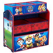 Delta Children PAW Patrol 6-Bin Design & Store Toy Organizer