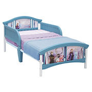 Delta Children Disney Frozen II Plastic Toddler Bed