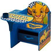 Delta Children The Lion King Chair Desk with Storage Bin