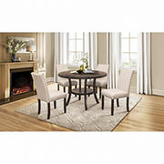 Global Furniture D7205 Dining Set with White Glove Delivery