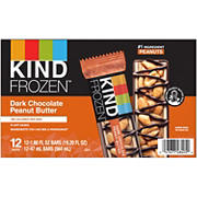 Kind Frozen Dark Chocolate Peanut Butter Treat Bar, 12 ct.