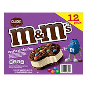 M&M'S Classic Cookie Sandwiches, 12 ct.