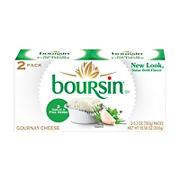 Boursin Garlic and Fine Herbs Gournay Cheese, 2 pk./5.2 oz.