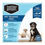 Berkley Jensen Pet Training Pads, 100 ct.