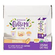 Oatsome Organic Oatmilk, 6 pk./33.8 fl. oz.