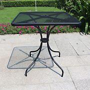 Berkley Jensen Mesh Steel Bistro Table