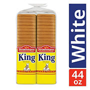 Stroehmann's King White Sandwich Bread, 2 pk./20 oz.