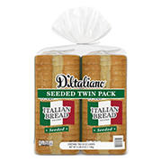 D'Italiano Seeded Italian Bread, 2 pk./20 oz.