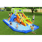 H2OGO! Wild Tide Kids Inflatable Water Park