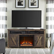 """Ameriwood Home Farmington Electric Fireplace TV Console for TVs up to 60"""""""