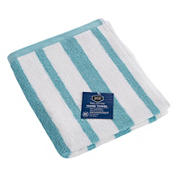 Berkley Jensen Cotton Hand Towel - Sea Blue Stripe