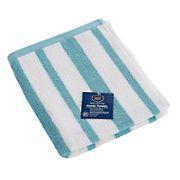 Berkley Jensen Cotton Hand Towel - Sea Blue Stripe