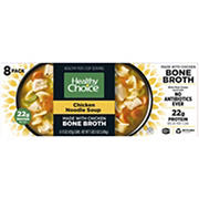 Healthy Choice Chicken Noodle Soup made with Chicken Bone Broth, 8 pk.