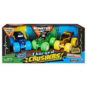 Monster Jam 1:64 Scale Grave Digger, Son-Uva Digger and Earth Shaker Charged Crushers, 3-pk.