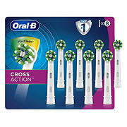 Oral-B CrossAction Electric Toothbrush Replacement Brush Heads, 8 ct.