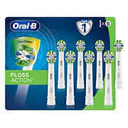 Oral-B FlossAction Electric Toothbrush Replacement Brush Heads, 8 ct.