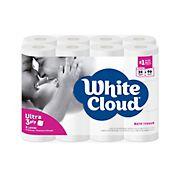 White Cloud 3-Ply Bath Tissue, 24 ct.