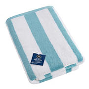 Berkley Jensen Cotton Bath Towel - Sea Blue Stripe