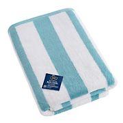 Berkley Jensen Cotton Bath Towel - Sea Blue Stripe