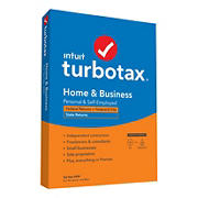 Intuit TurboTax Home & Business Federal + E-File + State 2020