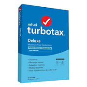 Intuit TurboTax Deluxe Federal + E-File + State 2020