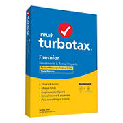 Intuit TurboTax Premier Federal + E-File + State 2020
