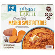 Honest Earth Home Style Mashed Sweet Potatoes, 6 ct.