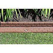 Rubberific Brickface Rubber Landscape Edging, 2 pk. -Brown