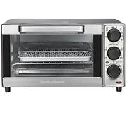 Hamilton Beach Sure-Crisp 4-Slice Capacity Air Fryer Toaster Oven - Stainless Steel Exterior