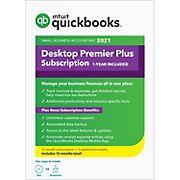 Intuit QuickBooks Desktop Premier Plus 2021, 15 Months