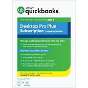 Intuit QuickBooks Desktop Pro Plus 2021, 15 Months