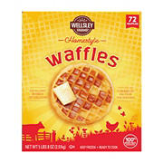 Wellsley Farms Homestyle Waffles, 72 ct.