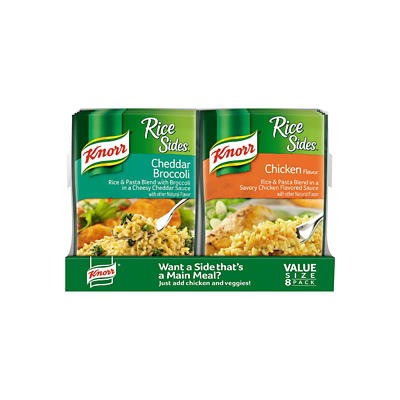 Knorr Chicken, Rice and Pasta Rice Sides, 8 ct./5.6 oz.