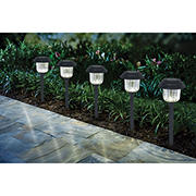 Berkeley Jensen 8-Lumen Solar Pathway Lights, 8 pk. - Weathered Zinc