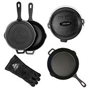 Pit Boss 6-Pc. Cast Iron Starter Set