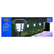 Berkeley Jensen 12-Lumen Solar Pathway Lights, 8 pk. - Oil-rubbed Bronze