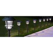 Berkeley Jensen 12-Lumen Solar Pathway Lights, 8 pk. - Weathered Zinc