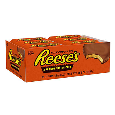 Hershey's Reese's Peanut Butter Cups, 36 ct.