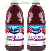 Ocean Spray Cranberry Raspberry Juice, 2 ct.